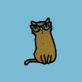 Kitty with Glasses Patch