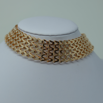 Chevron Collar Choker