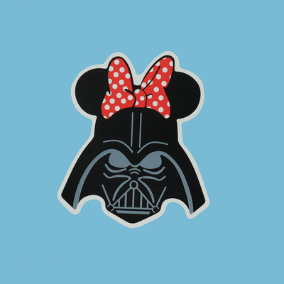Darth Minnie Sticker