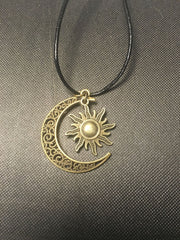 Sun and Moon Necklaces