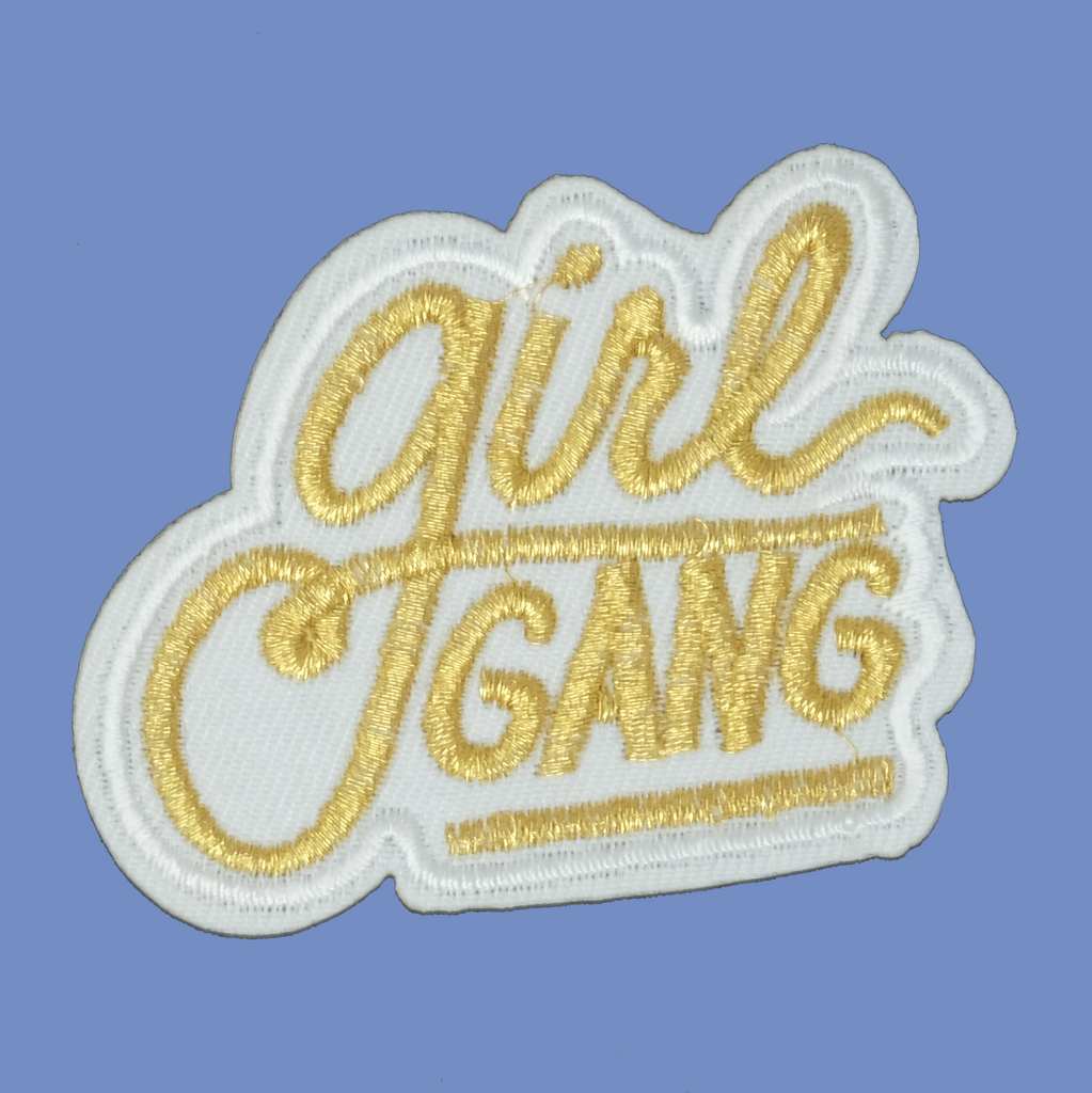 Gold Girl Gang Patch