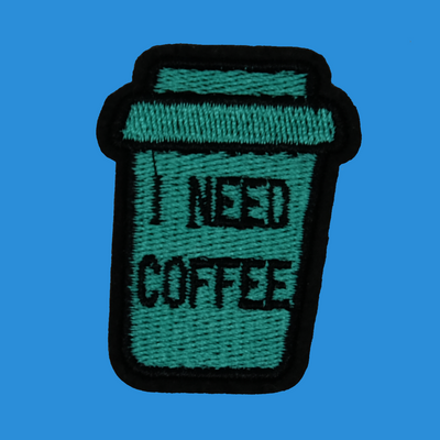 I Need Coffee Patch