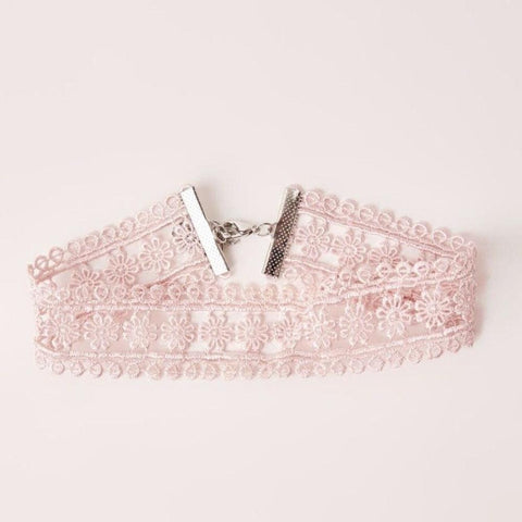 Happy Go Lucky Crochet Choker