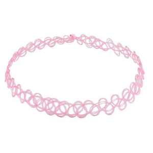 Cotton Candy Tattoo Choker