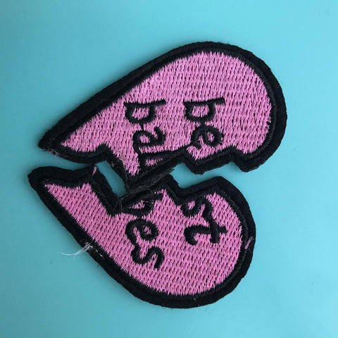 Best Babes Iron On Patch