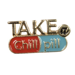 Chill Pill Pin