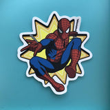 Spiderman Sticker
