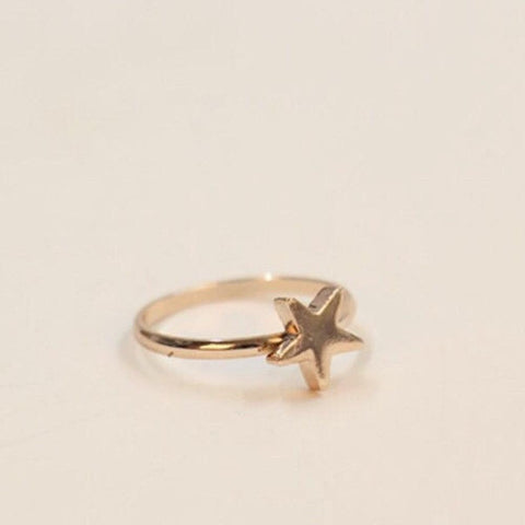 Chunky Star Ring