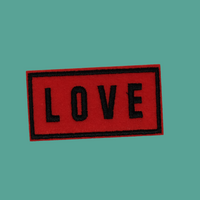 Love Banner Patch