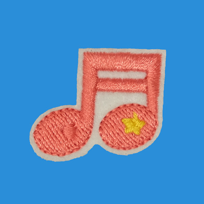 Lil' Music Note Patch