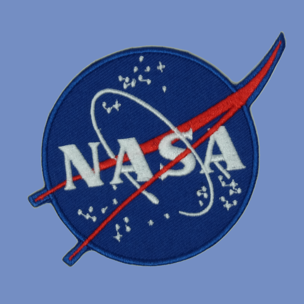 NASA Iron On Patch
