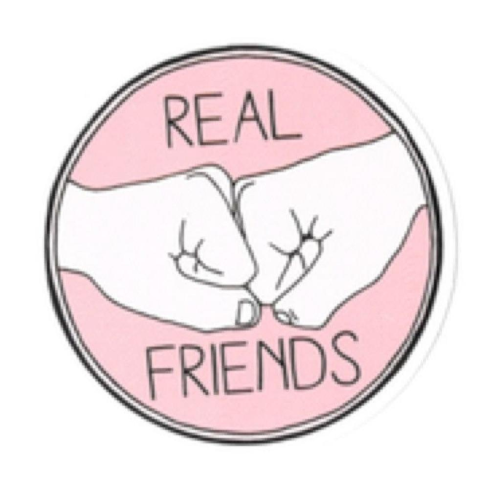Real Friends Sticker