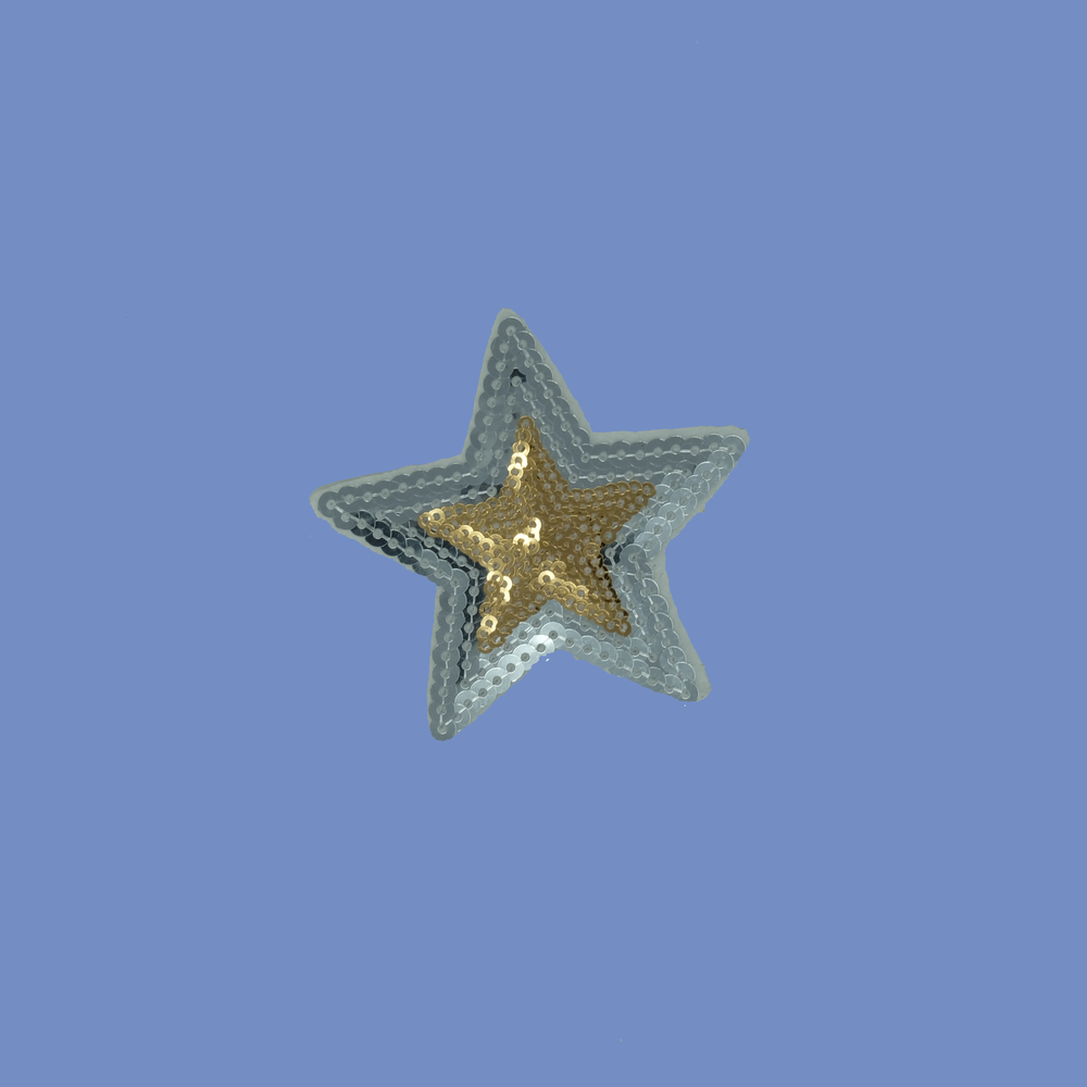 Sequin Star Patch