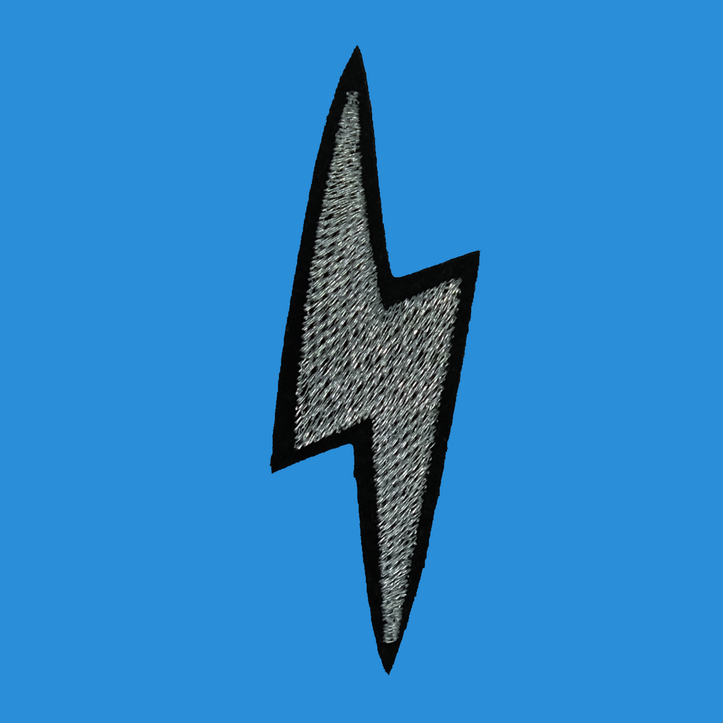 Silver Bolt Patch