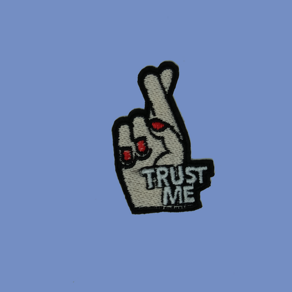 Trust Me Iron-On Patch