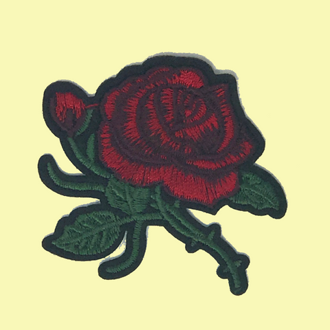 Winding Vines Rose Patch