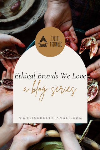 A blog series about ethical brands