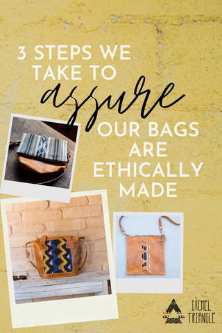 find ethically made bags and leather goods at www.ixcheltriangle.com