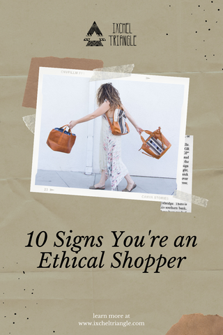 Signs You're an Ethical Shopper