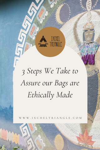 ethically made bags and leather goods by www.ixcheltriangle.com
