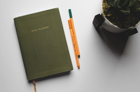 day planner that I carry in my Ixchel Triangle Explorer bag
