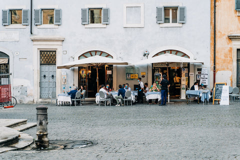 eat at local cafes to promote sustainable tourism