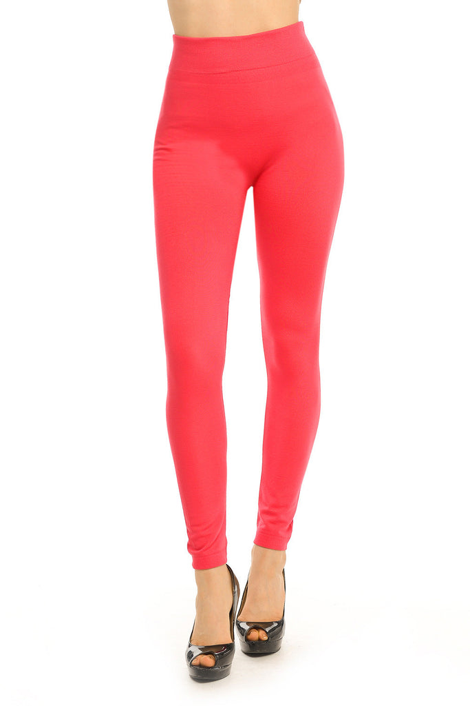 Full Length High Waist Fleece Lined Leggings Warm and Thick