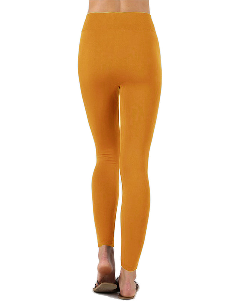 Womens Premium Warm Fleece Lined Leggings with High Waist (15 Colors)