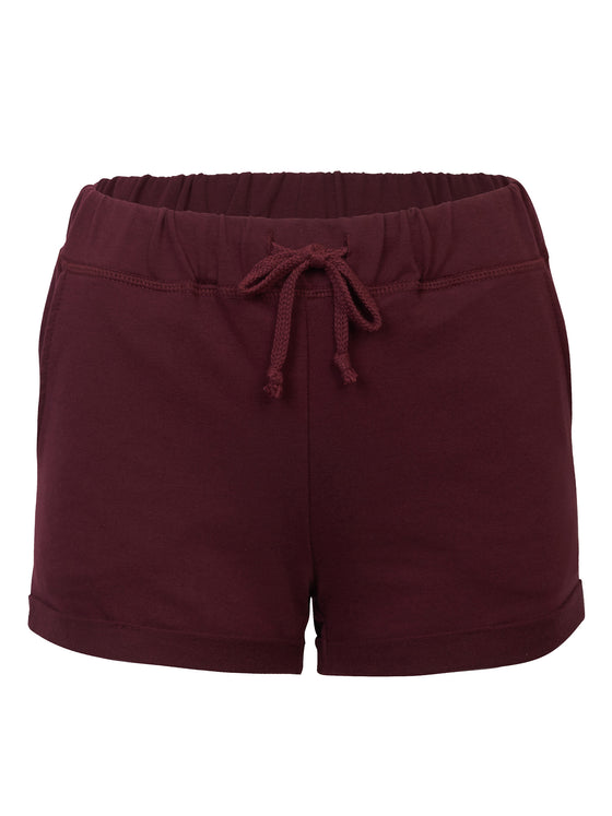 29be8970b KOGMO Womens Casual Summer Comfy Cotton Shorts With Elastic Waist Band