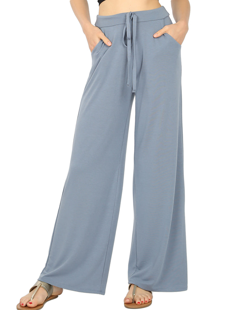 KOGMO Women's Comfy Lounge Pants with Drawstring Waist (S-XL)