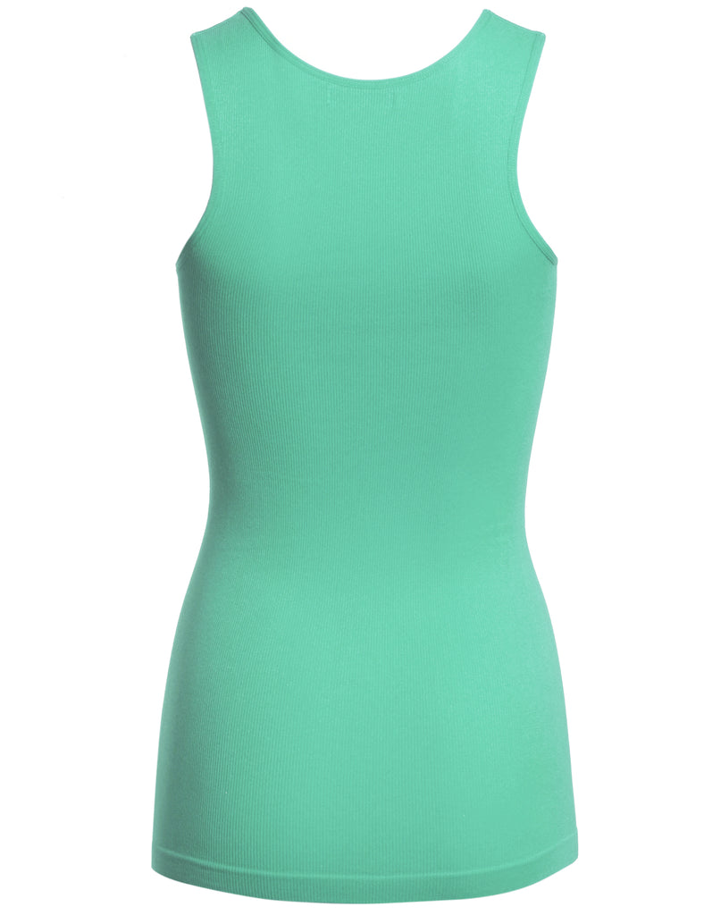 [Clearance] OneSize SEAMLESS Nylon/Spandex Long Jersey Tank Top