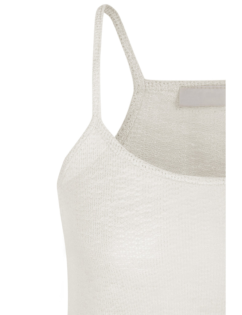 Flared Fashion Tank Top with Spaghetti Strap