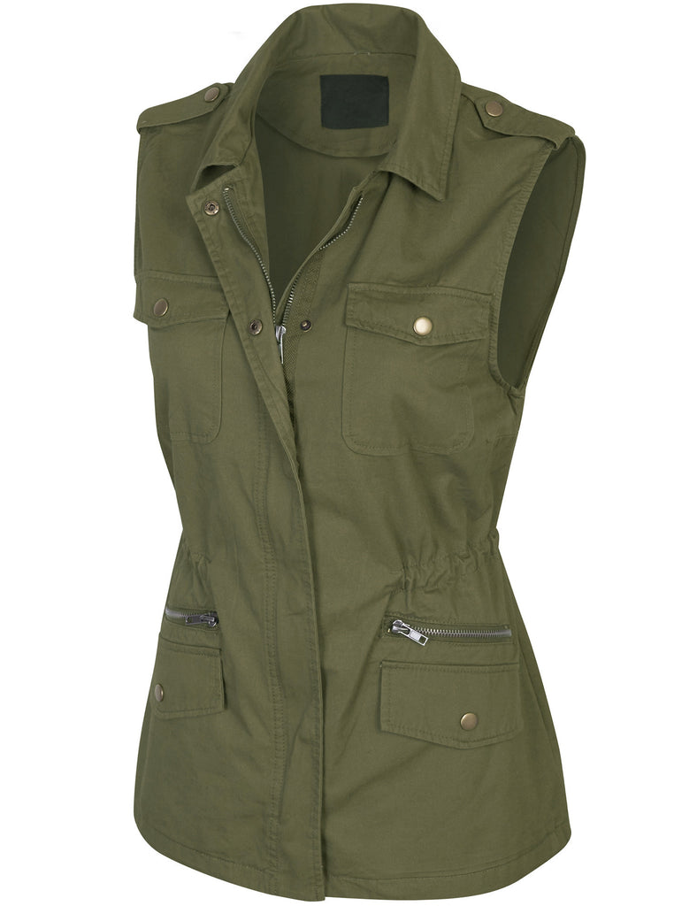 Military Anorak Safari Utility Vest