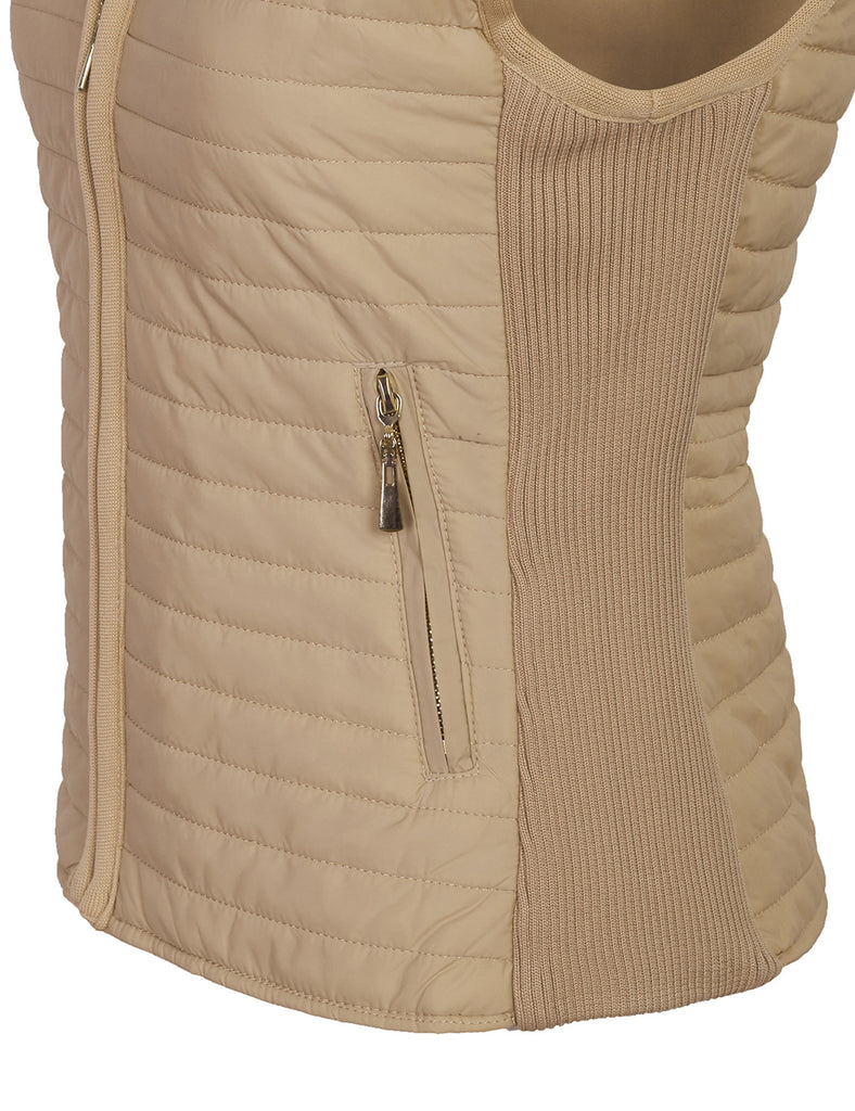 All Seasons Quilted Fully Lined Lightweight Vest