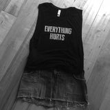 Everything Hurts Super Soft Tank Top - Farina Bodywear