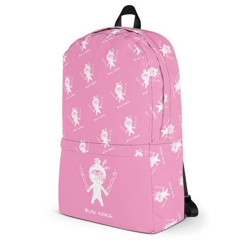 Bun Ninja Pink Dance Backpack - Farina Bodywear
