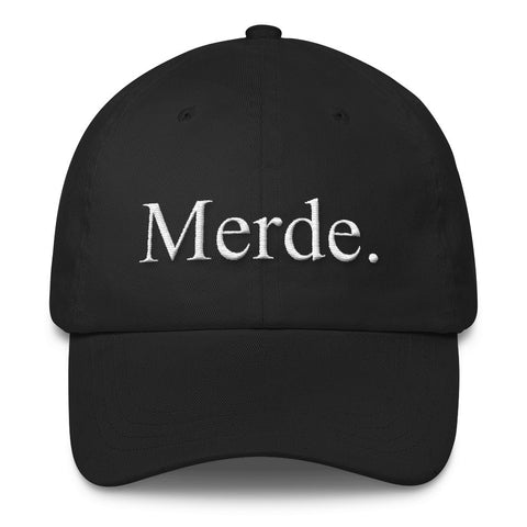 Merde Old School Embroidered Cap - Farina Bodywear