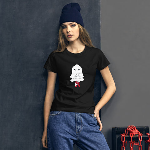 Ghostly Wili Spirit Women's short sleeve  t-shirt - Farina Bodywear