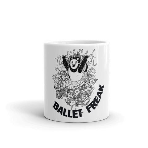 Ballet Freak Monster Mug - Farina Bodywear