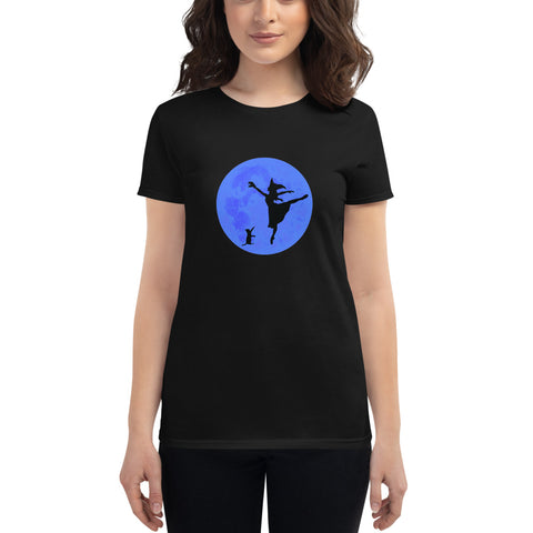 Ballerina Witch Women's short sleeve t-shirt - Farina Bodywear