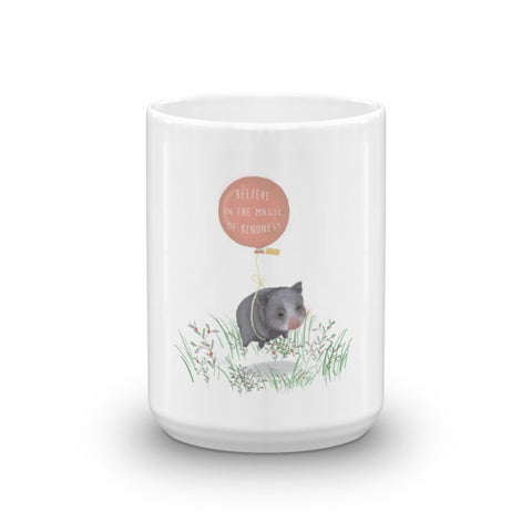 For Charity : Mug : Believe In the Magic of Kindness : Mino Valley - Farina Bodywear