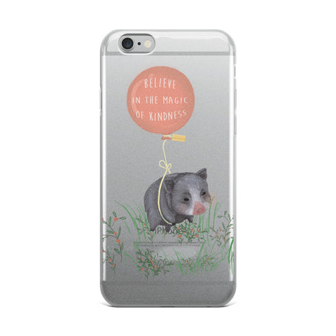 For Charity : iPhone Case : Believe in the Magic of Kindness : Mino Valley - Farina Bodywear