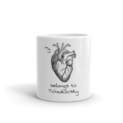 My Heart Belongs to Tchaikovsky Mug - Farina Bodywear