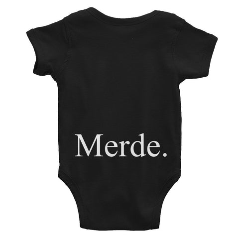 Merde Infant Bodysuit - Farina Bodywear