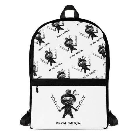 Bun Ninja Backpack Black - Farina Bodywear
