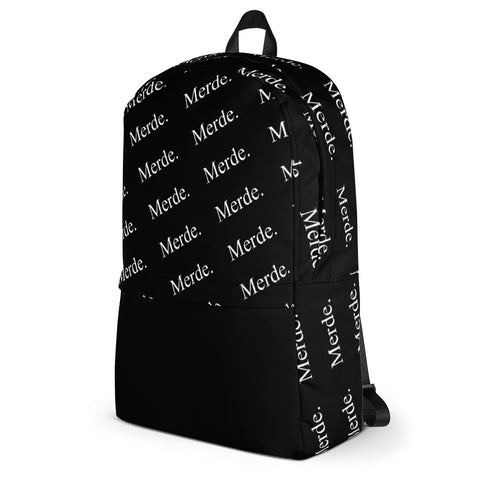Merde Dancers Backpack with Black Front Pocket - Farina Bodywear