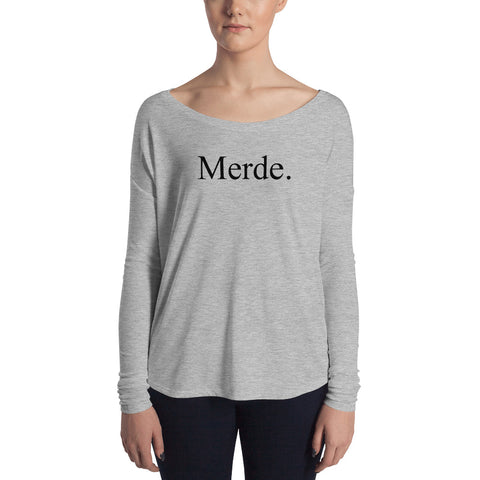 Merde Ladies' Long Sleeve Top - Farina Bodywear