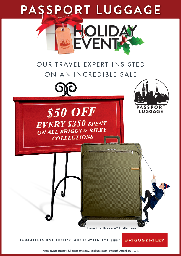 Passport Luggage Holiday Event