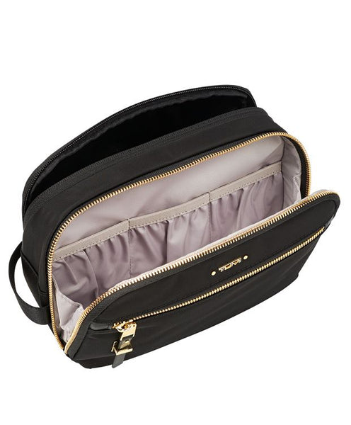 Tumi Voyageur Erie Double Zip Cosmetic Case