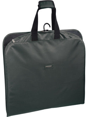 "WallyBags 45"" Mid Length Slim Garment Bag with Pockets"